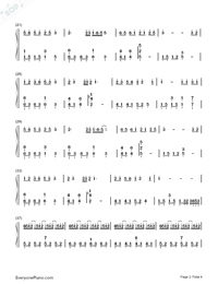 Getsuseikou-Moon West River-Numbered-Musical-Notation-Preview-2