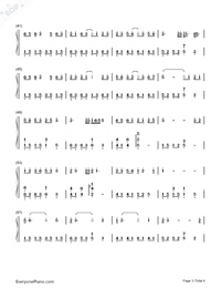 Getsuseikou-Moon West River-Numbered-Musical-Notation-Preview-3