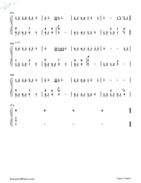 Getsuseikou-Moon West River-Numbered-Musical-Notation-Preview-4