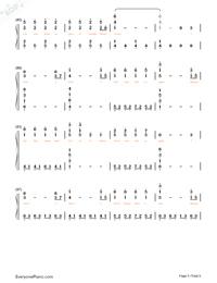 Lost Control-フルバージョン両手略譜プレビュー5