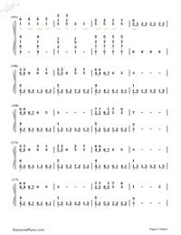 Lost Control-フルバージョン両手略譜プレビュー6
