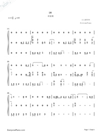 18-G.E.M. Numbered Musical Notation Preview 1