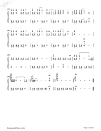 Sakura-Ancient City II-Numbered-Musical-Notation-Preview-3