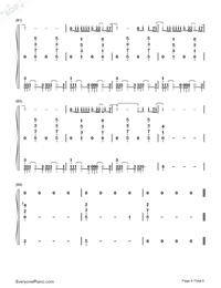 Fade-Lewis Capaldi-Numbered-Musical-Notation-Preview-6