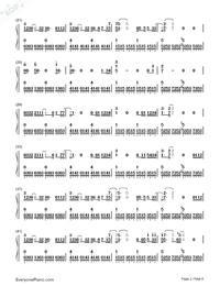 寂寞星球的玫瑰-鄧紫棋雙手簡譜預覽2