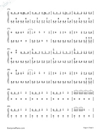 The Color of The Stars-Numbered-Musical-Notation-Preview-4