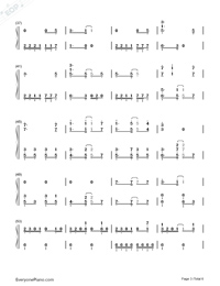 Fantastic Magic-Ninja Slayer ED-Numbered-Musical-Notation-Preview-3