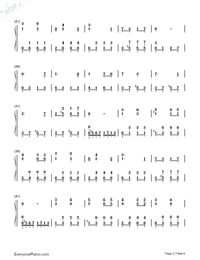 Katyusha-Full Version-Numbered-Musical-Notation-Preview-2