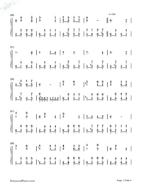 Katyusha-Full Version-Numbered-Musical-Notation-Preview-3