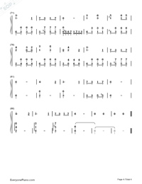 Katyusha-Full Version-Numbered-Musical-Notation-Preview-4