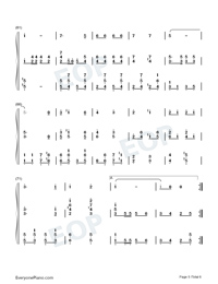 Give My Regards To Broadway-Little Johnny Jones OST-Numbered-Musical-Notation-Preview-5