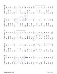The Stars and Stripes Forever-John Philip Sousa Numbered Musical Notation Preview 3