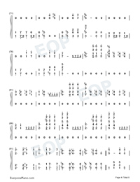 The Stars and Stripes Forever-John Philip Sousa Numbered Musical Notation Preview 4