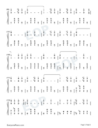 The Stars and Stripes Forever-John Philip Sousa Numbered Musical Notation Preview 5