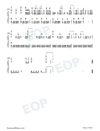 Torches-Vinland Saga ED-Numbered-Musical-Notation-Preview-2