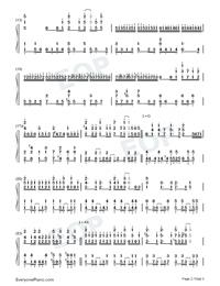 Iya yo Iya yo Mosuki no Uchi-Numbered-Musical-Notation-Preview-2