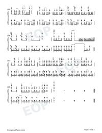 Iya yo Iya yo Mosuki no Uchi-Numbered-Musical-Notation-Preview-3