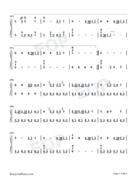 Mang Zhong-Perfect Version-Numbered-Musical-Notation-Preview-3
