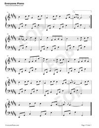赤伶-抖音熱歌五線譜預覽3