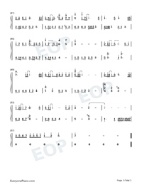 Tree Hollow-A Little Reunion OST-Numbered-Musical-Notation-Preview-3