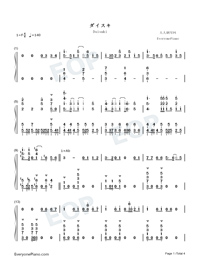 Daisuki-Full Version-Numbered-Musical-Notation-Preview-1