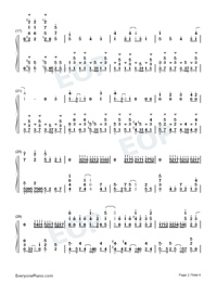 Daisuki-Full Version-Numbered-Musical-Notation-Preview-2