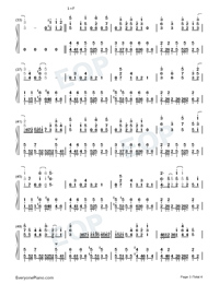 Daisuki-Full Version-Numbered-Musical-Notation-Preview-3