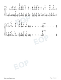 Daisuki-Full Version-Numbered-Musical-Notation-Preview-4