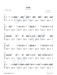 Bu Wei Xia-Alex-Numbered-Musical-Notation-Preview-1