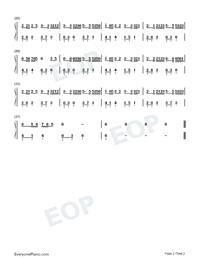 Bu Wei Xia-Alex-Numbered-Musical-Notation-Preview-2