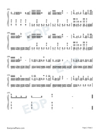 All Love And Kindness-Numbered-Musical-Notation-Preview-2