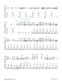 Liar-Camila Cabello-Numbered-Musical-Notation-Preview-4