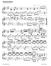 Wont Cry-Accompaniment Stave Preview 3