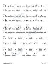 Ai ni Dekiru Koto wa Mada Aru Kai-Weathering with You Theme-Numbered-Musical-Notation-Preview-4
