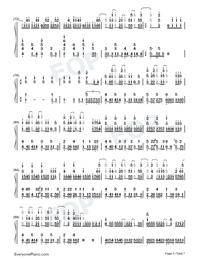 Ai ni Dekiru Koto wa Mada Aru Kai-Weathering with You Theme-Numbered-Musical-Notation-Preview-5