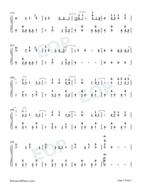 July-Noah Cyrus-Numbered-Musical-Notation-Preview-2