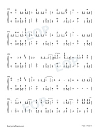 July-Noah Cyrus-Numbered-Musical-Notation-Preview-3