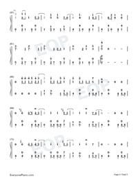 July-Noah Cyrus-Numbered-Musical-Notation-Preview-4