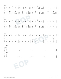 July-Noah Cyrus-Numbered-Musical-Notation-Preview-5
