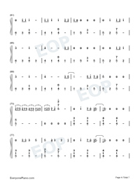 Die Hard-Refeci ft Emelie Cyréus-Numbered-Musical-Notation-Preview-4