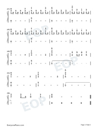 Through Darkness-Approaching Nirvana-Numbered-Musical-Notation-Preview-3