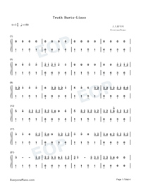 Truth Hurts-Lizzo-Numbered-Musical-Notation-Preview-1