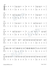 Truth Hurts-Lizzo-Numbered-Musical-Notation-Preview-2
