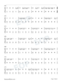 Truth Hurts-Lizzo-Numbered-Musical-Notation-Preview-3