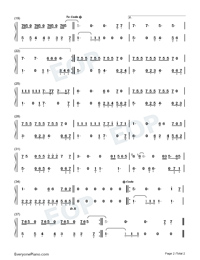 Lover-Taylor Swift-Numbered-Musical-Notation-Preview-2
