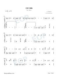 The Moon-Yin Lin-Numbered-Musical-Notation-Preview-1