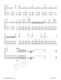 March of Mighty Blowing East Wind Dongfeng-Numbered-Musical-Notation-Preview-3