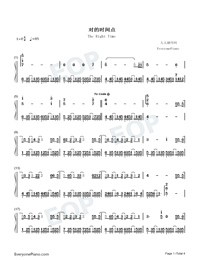 The Right Time-JJ Lin-Numbered-Musical-Notation-Preview-1