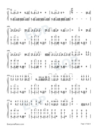 The Right Time-JJ Lin-Numbered-Musical-Notation-Preview-3