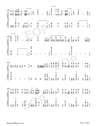 10000 Hours-Dan Shay ft Justin Bieber-Numbered-Musical-Notation-Preview-3
